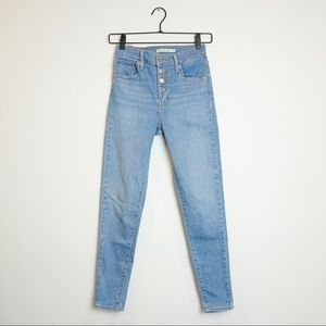 LEVI'S Mile High Super Skinny Button-Fly